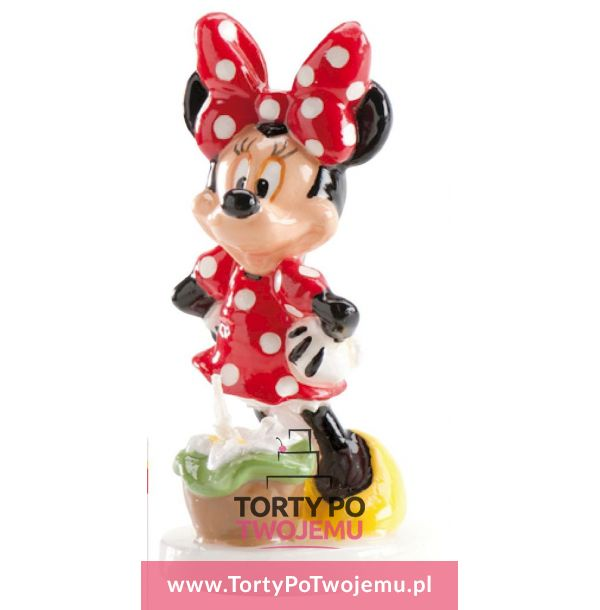 Świeczka Minnie mouse