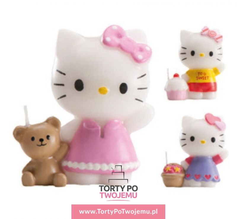 Świeczka Hello Kitty