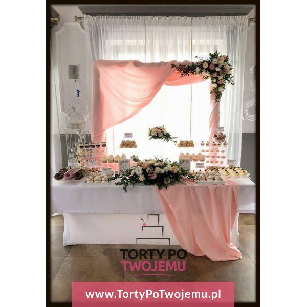 PRZEŹROCZYSTE PLEXI róż/biel