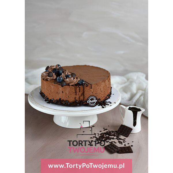Tort czekoladowy z chrupkami
