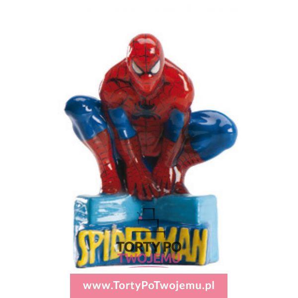 Świeczka Spiderman